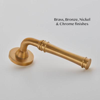Impulse Lever Handle Smoked Brass