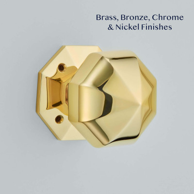 Octagonal Mortice Door Knobs