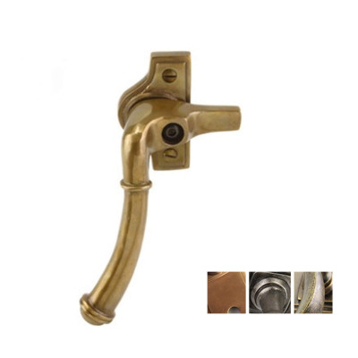 Bronze locakable fastener