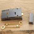 Small Iron Rim Lock