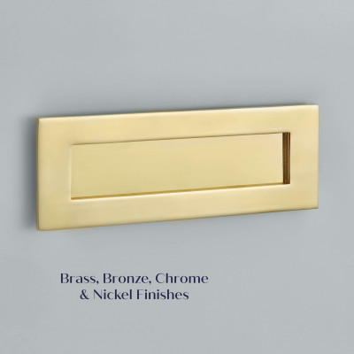 Brass Plain Letter Plate