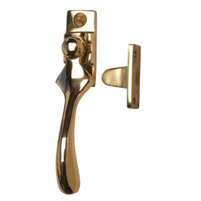 Brass Wedge Window Fastener