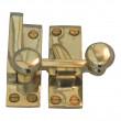 Brass Wedmore Quadrant Sash Fastener