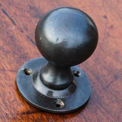 Dark Bronze Ball Knob Set