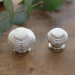 Nickel Beehive knobs