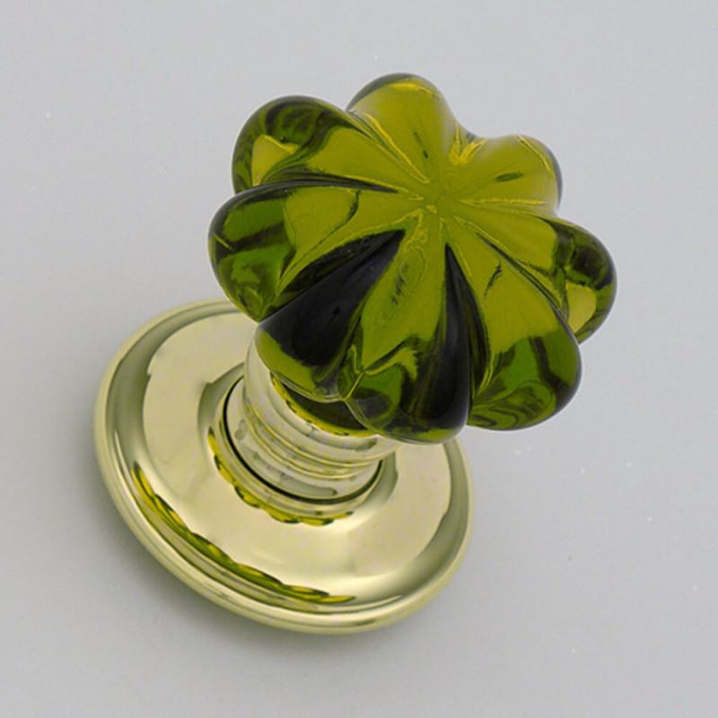 Peridot Daisy Handmade Glass Door Knobs The Period