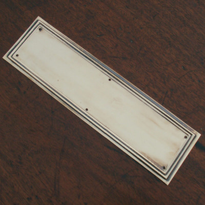 Lincoln Finger Plate