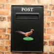 Black period postbox